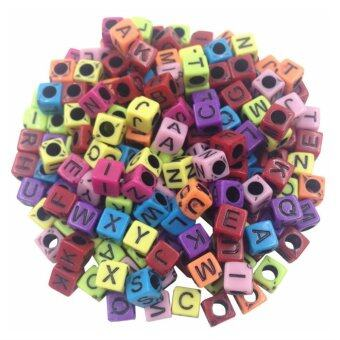 Harga Alphabet Letters Beads Charm Loom Bracelets Accessories
