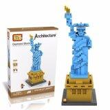 Architecture/Building Series: The Statue of Liberty Loz Nano/Diamond Block [Nanoblock Compatible]