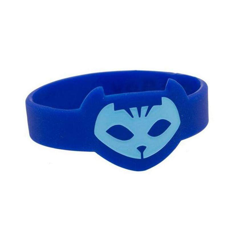 Arctic Land Cool PJ Mask Themed Wrist Band For Kids Set of 3 Catboy Owlette Gekko Hot Tops - intl
