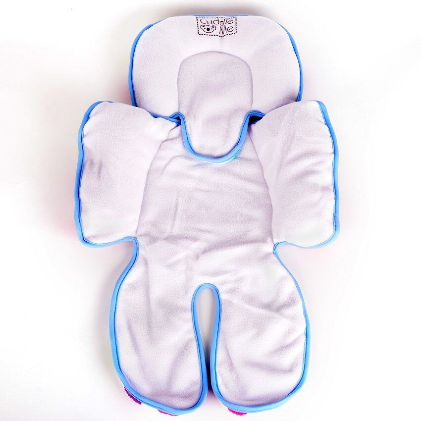 Authentic CuddleMe Head & Body Support Seat Pad - Big Polka