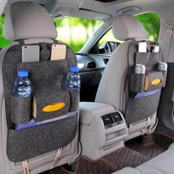Auto Car Seat Back Multi Pocket Storage Bag Organizer Holder Accessory
