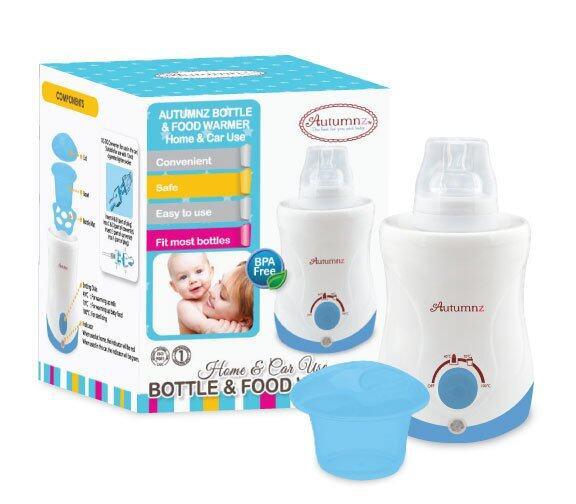 Autumnz Home & Car Bottle Warmer (Blue) -hcw1006