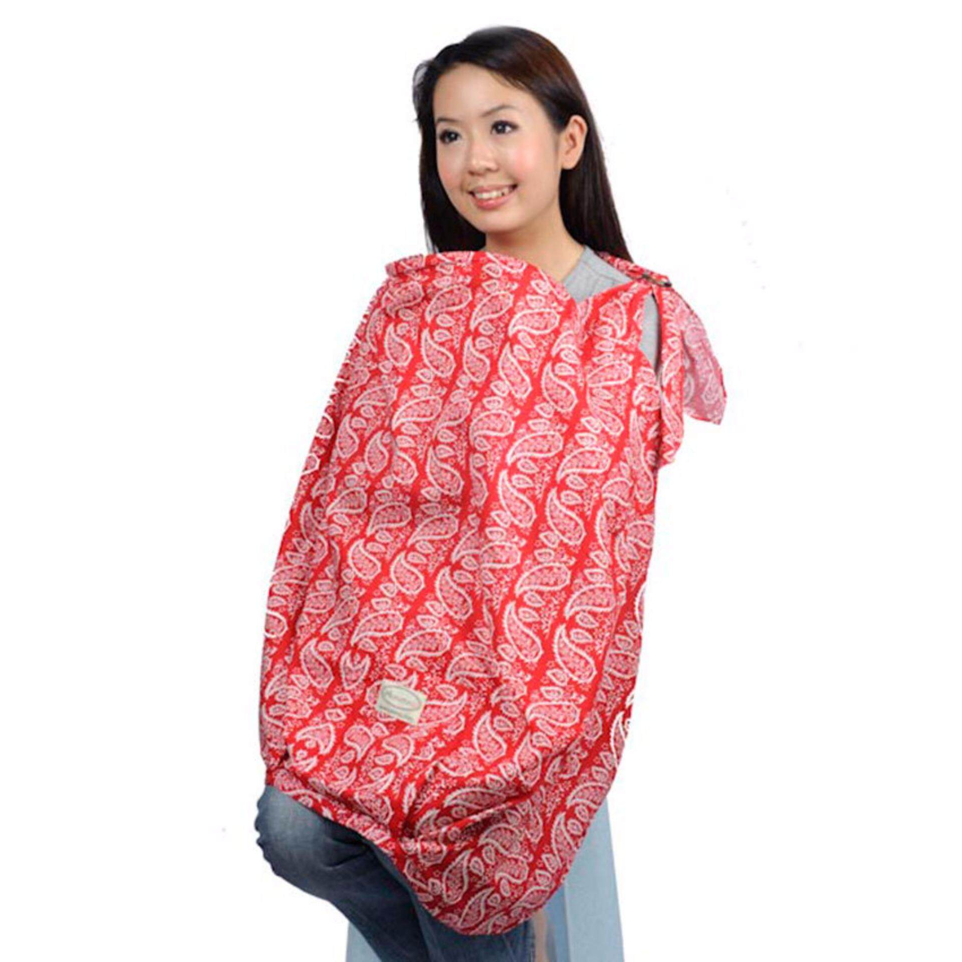 Autumnz Posh Nursing Cover Sanctuary Red