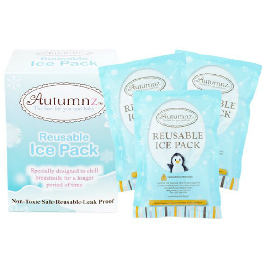 Autumnz Reusable Ice Pack - 3pcs