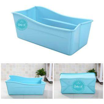 sell baby a foldable portable travel baby bathtub folding baby bathbathtub blue in. Black Bedroom Furniture Sets. Home Design Ideas