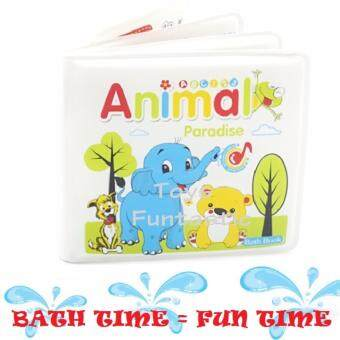 Harga Baby Earlier Learning Educational Bath Book (Animals)