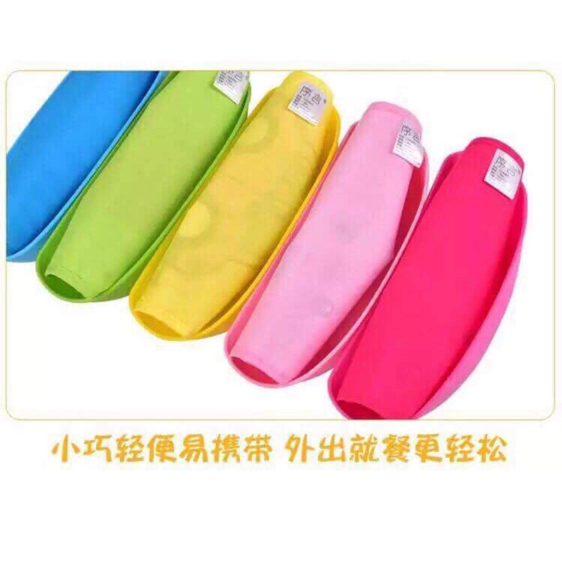 Infant Baby Children Toddler Waterproof Eating Feeding Food Silicone Bowl Bibs