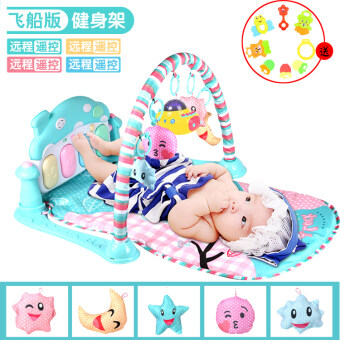 Baby fitness frame is foot piano newborn children baby music toys0-1-Year-Old 3-6-12 a month male girl