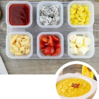 Baby Food Storage Container, Baby Food Freezer Tray with Lid,4x120ML BPA Free, Perfect For Homemade Baby Food, Vegetable &Fruit Purees and Milk