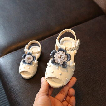 Baby girl's children's small children's princess shoes sandals