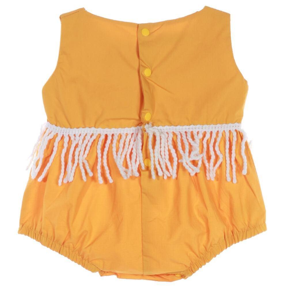 ส่วนลด สินค้า Baby Girls Sleeveless Rompers Summer Jumpsuit Intl