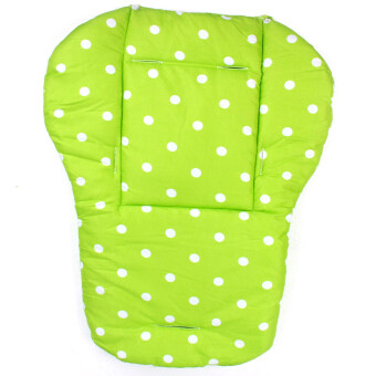 Harga Baby Kids Infant Pushchair Stroller Seat Padding Pram Liner PadCushion Soft Mat(green dot)