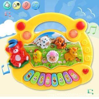 Baby Kids Musical Educational Piano Animal Farm Developmental MusicToys for Children Gift