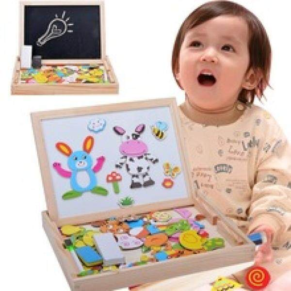2  in 1 MAGNETIC DRAWING BLACK N WHITE BOARD