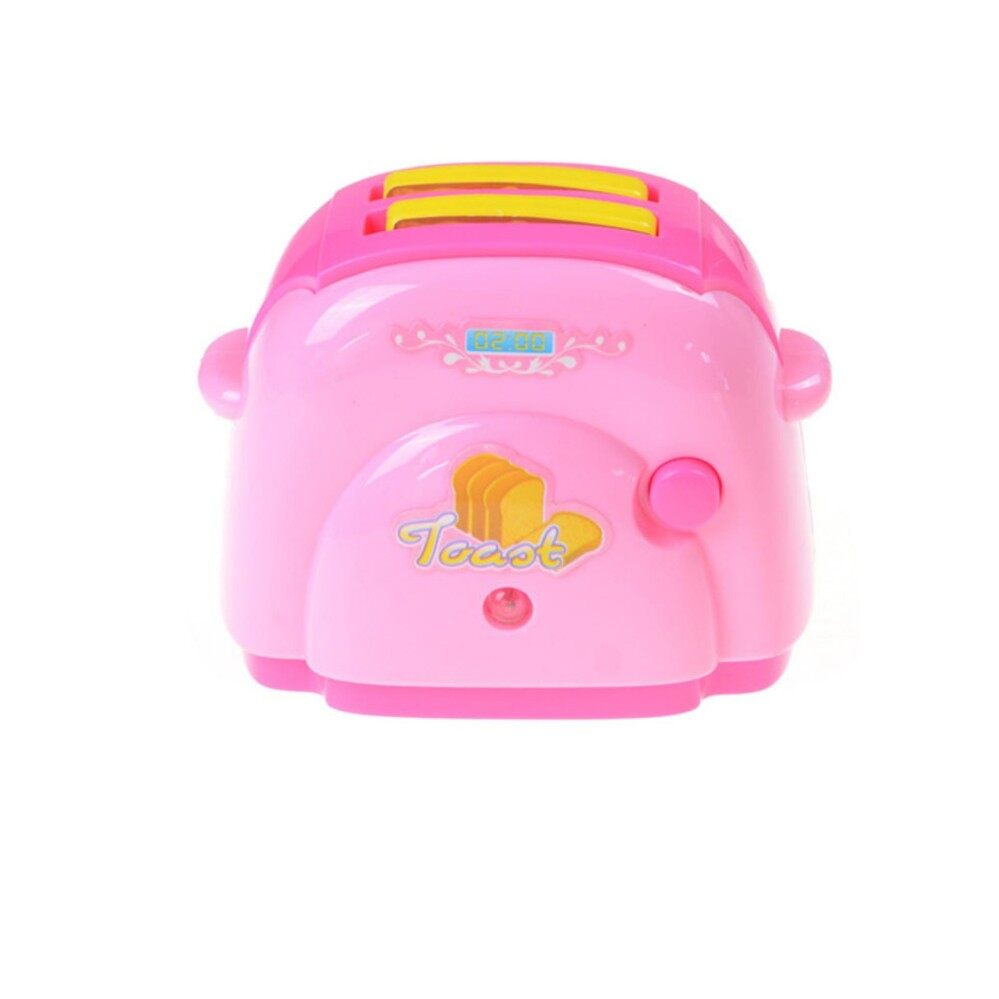 Baby Mini Bread Toaster with Light Classic Toys Pretend Play Kitchen Toys - intl