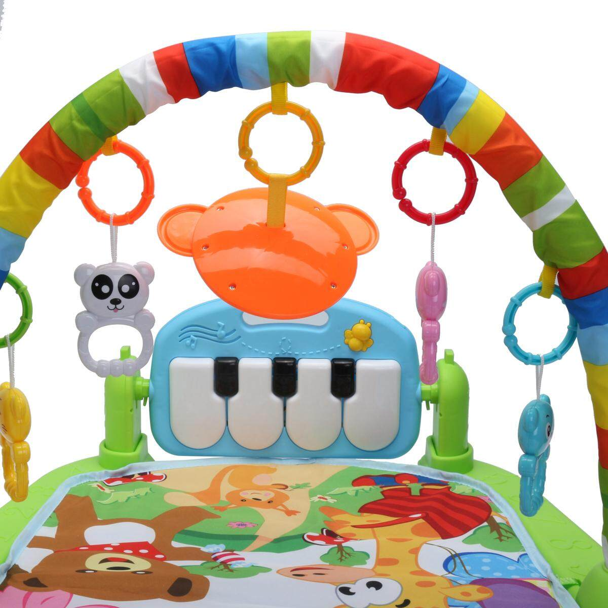 ... Baby Music Play Mat 3 in 1 Educational Rack Toys Keyboard Infant Fitness Carpet - intl ...