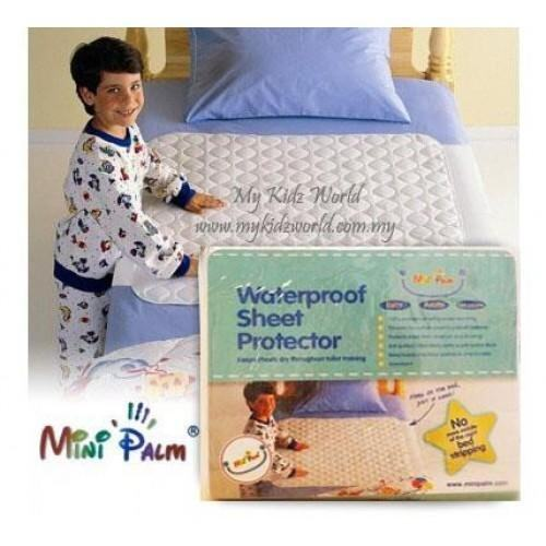 BABY STRONG WATERPROOF BEDSHEET PROTECTOR - NON SLIP BACKING