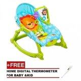 (RAYA 2019) BABY THRONE Premium New Born/ Toddler Rocker (Free Digital Thermometer)