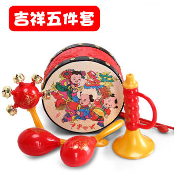 Baby toys 3-6-12 a month newborn children wear for men and womenbaby 0-1-year-old educational early childhood hand Bell rattle 8