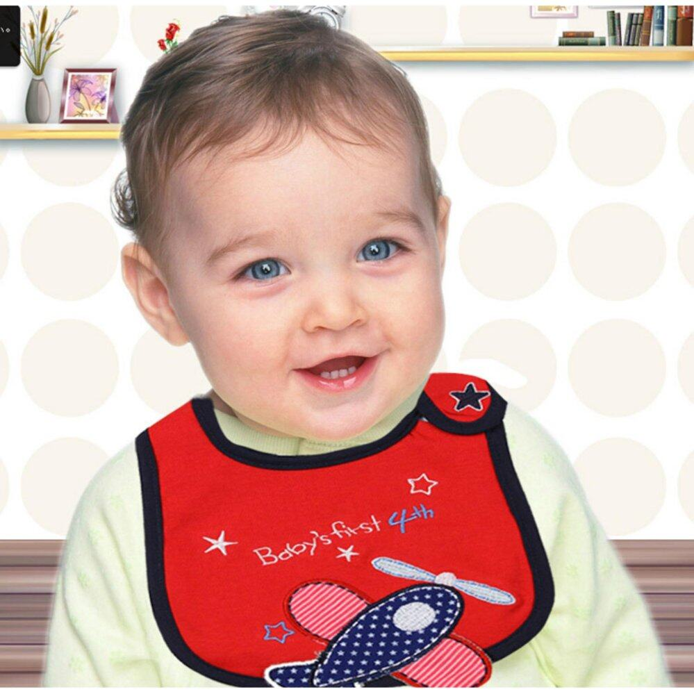 BABY WATERPROOF BIB (3PCS)