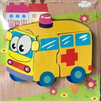 Baby wooden puzzle jigsaw puzzle kindergarten toy building blocks