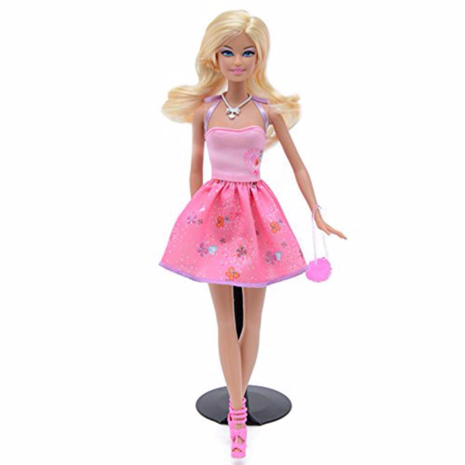 28f41aed2 Barbie Doll Toys Princess Designer Collection Gift Box Set With Barbie  Clothes Dress For Baby Girls ...