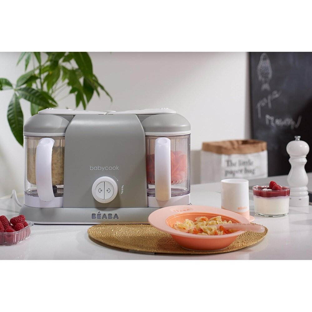 BEABA Baby Cook Plus Steam & Blend White