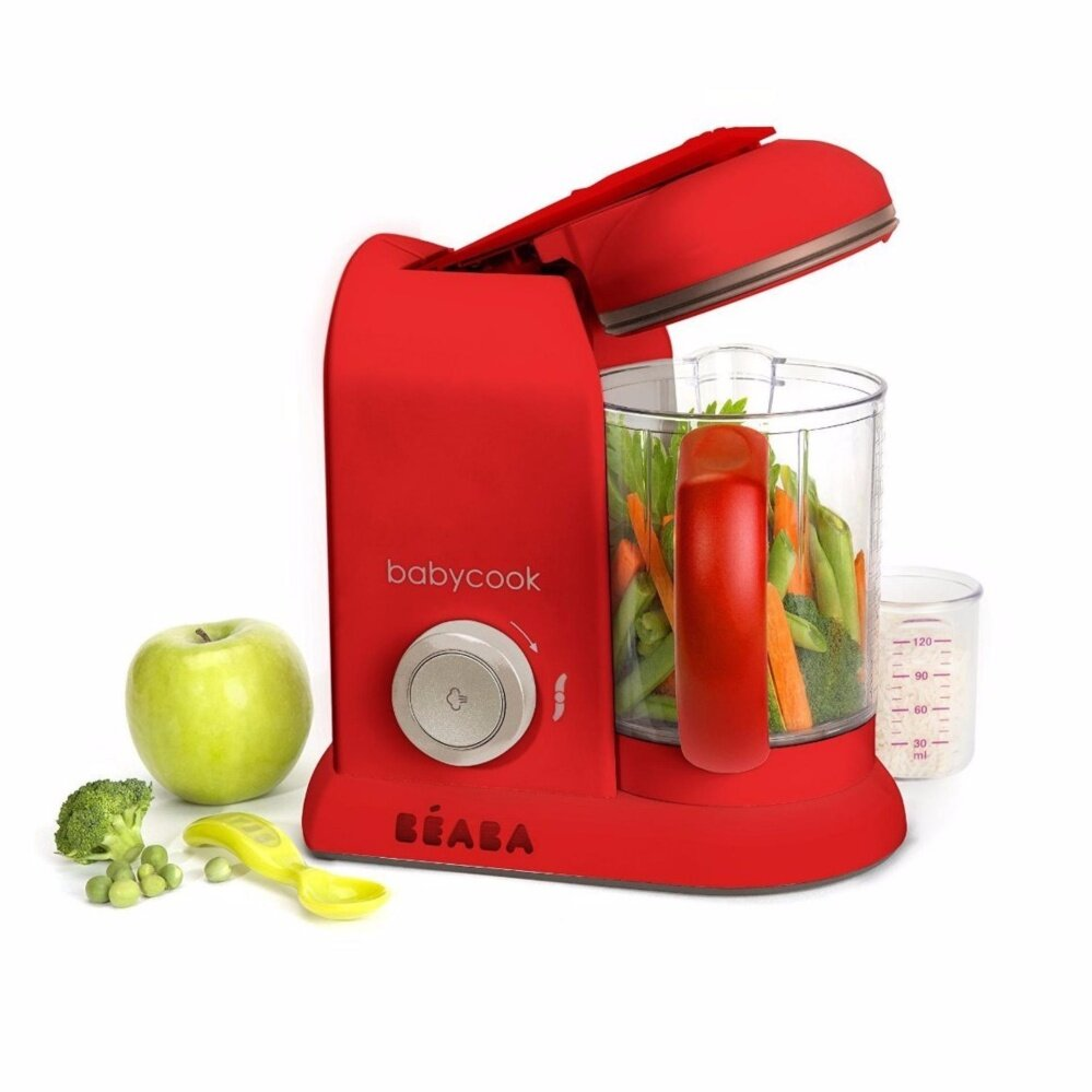 BEABA Baby Cook Solo Steam & Blend Neon