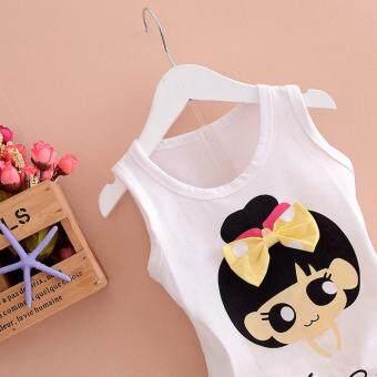 Bear Fashion Baby Clothing Kids Summer Sweet Bow Girls Clothes 2pcs Set Suit - 3