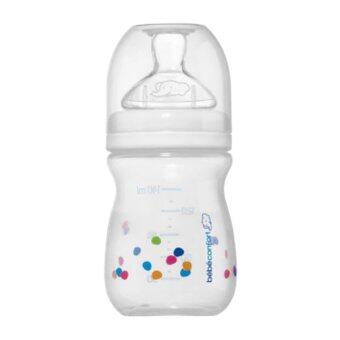 Bebe Confort Baby Bottle 140ml + Silicone Natural Comfort S1 Slow Flow