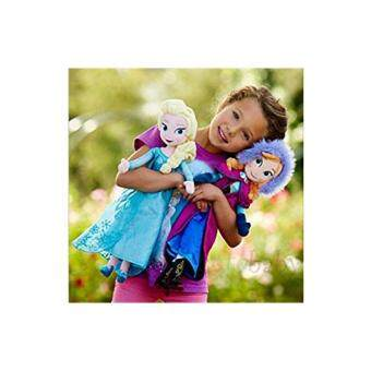 Harga Bees Clover Hot Elsa Anna Princess Stuffed Soft Plush Toy Doll forGirls 2pcs 40cm ,choose:2pcs 40cm Elsa#Anna