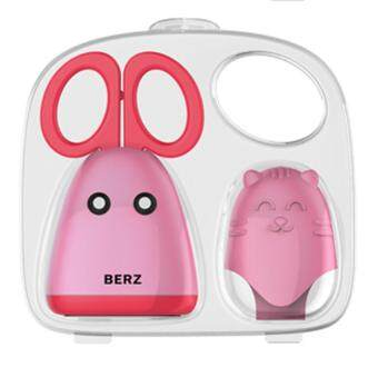 Berz Food Scissors-Baby Solid Food Cutter with Finger CoverCertified Food-Safe BPA Free