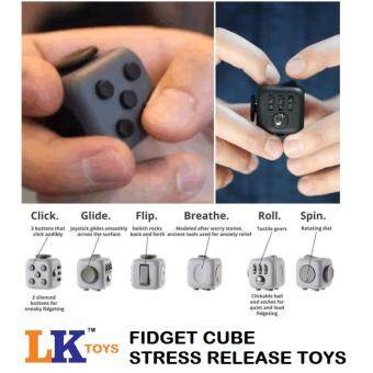 Best Price !!! LK Fidget Cube Stress Reliever Magic Cube