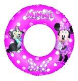Bestway 56cm Minnie Mouse Pink Swim Ring Cute Design inflatable