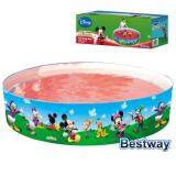 BESTWAY MICKEY MOUSE CLUBHOUSE 183 X 38cm FUN PADDLING SWIMMING FAMILY KIDS POOL
