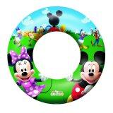 Bestway Mickey Mouse Clubhouse 56cm Swim Ring Pool Paddling Toy Safety Valve