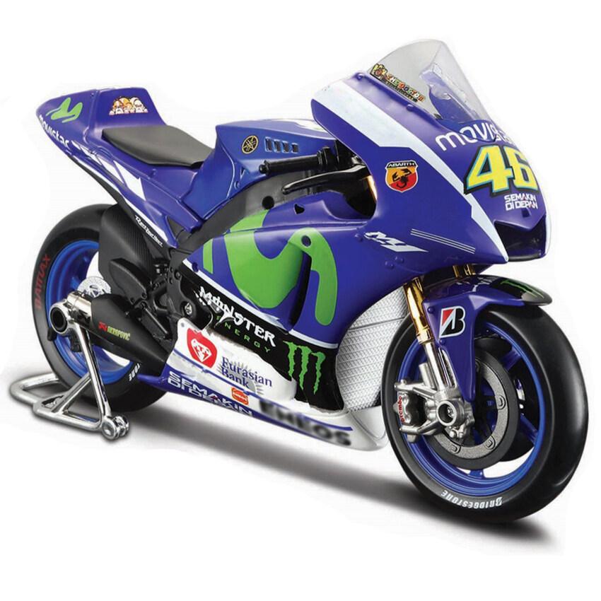 Z-Direct 1:18 Maisto Yzr M1 Model Motogp Race Bikes Rossi Lorenzo Race