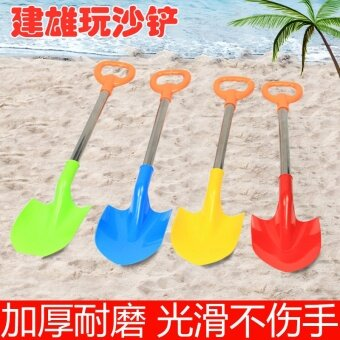 Built male children s beach shovel large baby play sand shovel todig snow  tools to dig sand 6cc8eab4b5