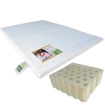 "Harga Bumble Bee Latex Playpen Mattress 28x41x1"" with Fitted PlaypenSheet"