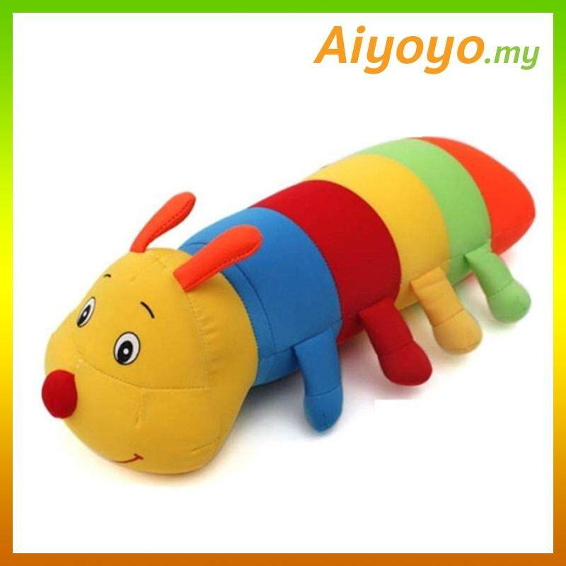 Caterpillar Bean Toy 30CM Stuffed Plush Soft Toy Teddy Doll Toys Cushion Pillow Nano Foam Particles Bubble Beans Kids Cute Gift Birthday Christmas Wedding Love Valentine
