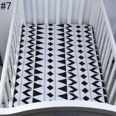 Catwalk Anak Laki-laki Perempuan Baru Bayi Crib Cot Tempat Tidur Fitted Lembar 100% Kapas