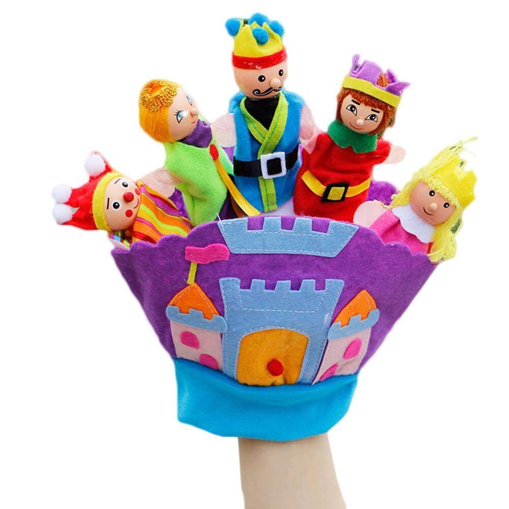 Boneka Tangan Binatang Desain 5 Jari Finger Doll Puppets 10 Pcs Satwa Lucu Puppet Animal Anak Kebun Sarung Hewan Mewah Mainan