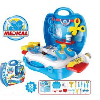 Harga Children Kids Play and Learn Fun Game Happy Mini Play Case Set -Medical Doctor