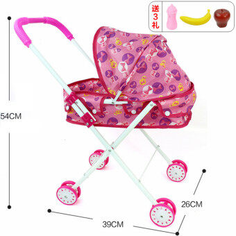 Harga Children's toys girl over every family doll iron folding