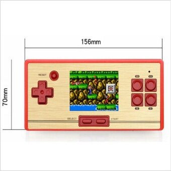"""Classic Retro Handheld Game Console children's video game player600 Games+128 games in Card 2nd Player Controller for FC pocket"" - 2"