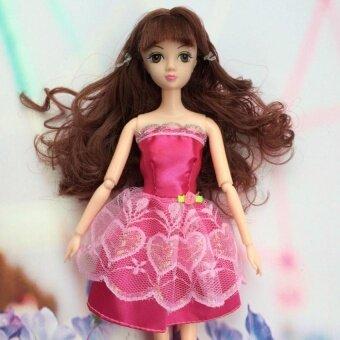 Cocotina Rok Ajaib Renda Barbie Gaun Boneka Kecil Rok Rok Ajaib