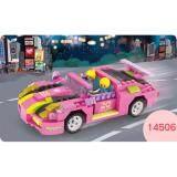 COGO 14506 Girls Series Building Blocks: Race Car 256pcs [DIY/Birthday Gift/Present]