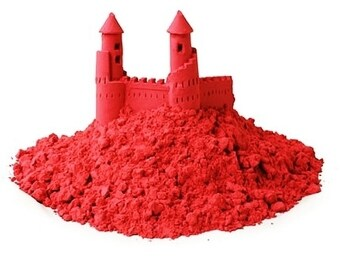 Harga Colourful Kinetic Sand- Red