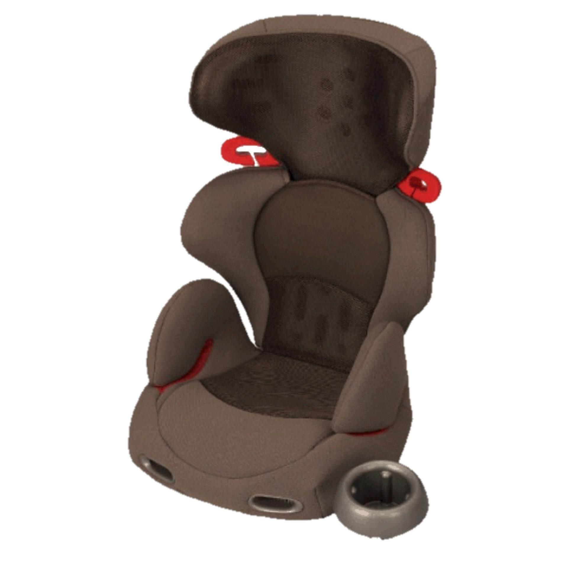 Combi Buon Junior Air Booster Car Seat Mesh Brown