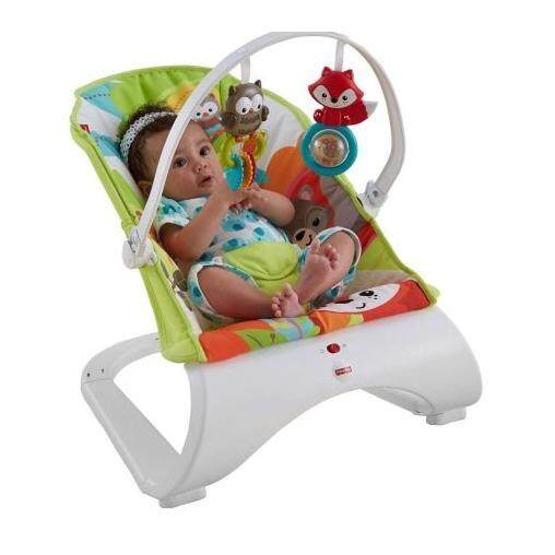 Curve Bouncer - Woodland Friends ( Green )